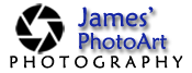James PhotoArt Photography Logo